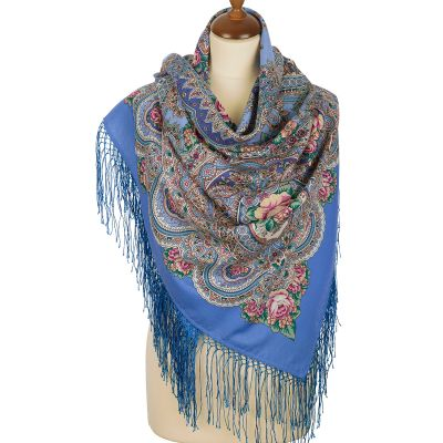 "Scarf ""Russian expanse"""