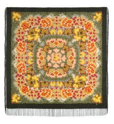 "Scarf ""Day of autumn is golden"""