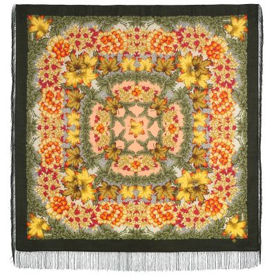 """Scarf """"Day of autumn is golden"""""""