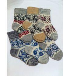 """Socks """"Forest deer"""" - 1 pair"""