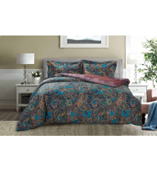 "Bedding set ""PAISLEY COLLECTION"" by SELENA 1,5sp. Fabulous night"