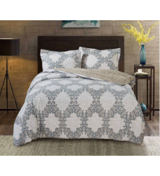 "Bedding set ""PAISLEY COLLECTION"" by SELENA 1,5sp. Linen lace"