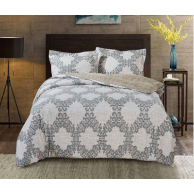 """Bedding set """"PAISLEY COLLECTION"""" by SELENA 1,5sp. Linen lace"""