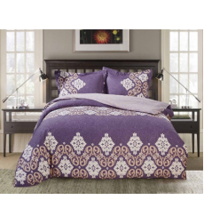 "Bedding set ""PAISLEY COLLECTION"" by SELENA 1,5sp. Velvet night"