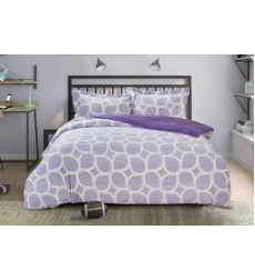 "Bedding set ""PAISLEY COLLECTION"" by SELENA 1,5sp. Lilac"