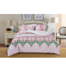 "Bedding set ""PAISLEY COLLECTION"" by SELENA 1,5sp. Pink Sherbet"