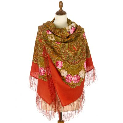 "Shawl ""The Celebration of Summer"""