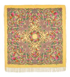 """Shawl """"In the world of love"""""""