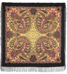 "Shawl ""In a whirlwind of dance"""