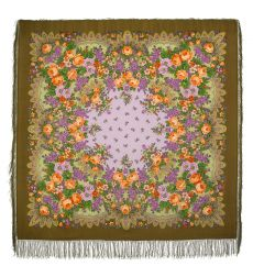 "Scarf ""Lilac Blossoms"""