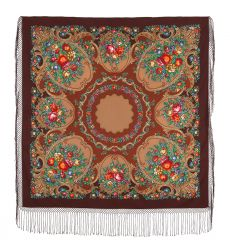 "Shawl ""Russian Seasons"""