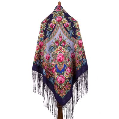 "Shawl ""Memories of summer"""