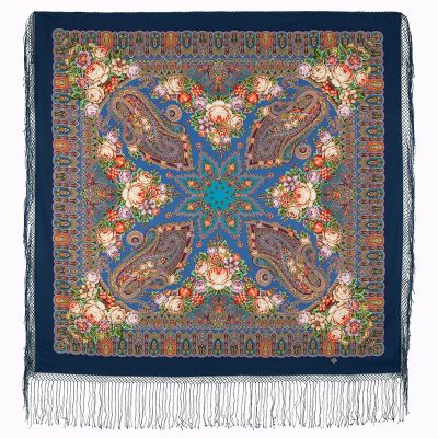 "Shawl ""Garden of wondrous dreams"""